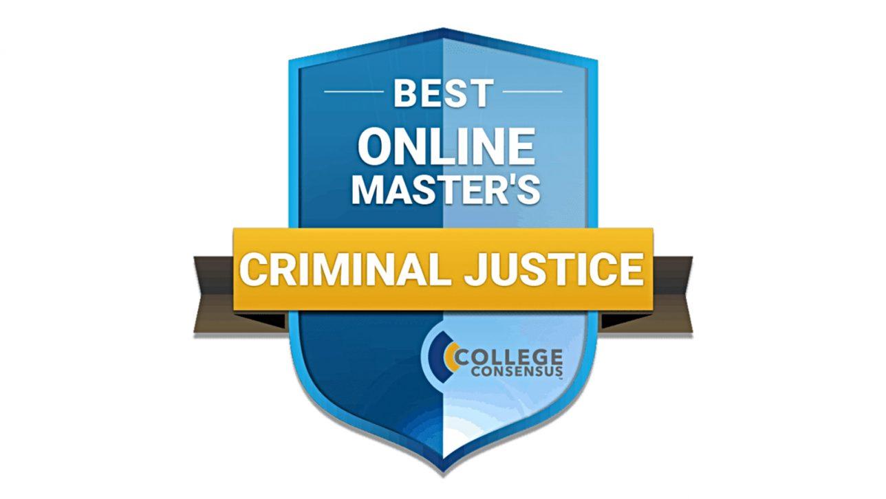 Best Online Master's Criminal Justice