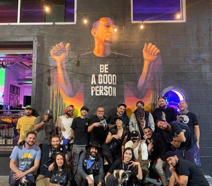 Rumtum 2020 Crush Walls art festival