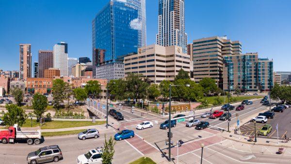 Aerial View of CU Denver