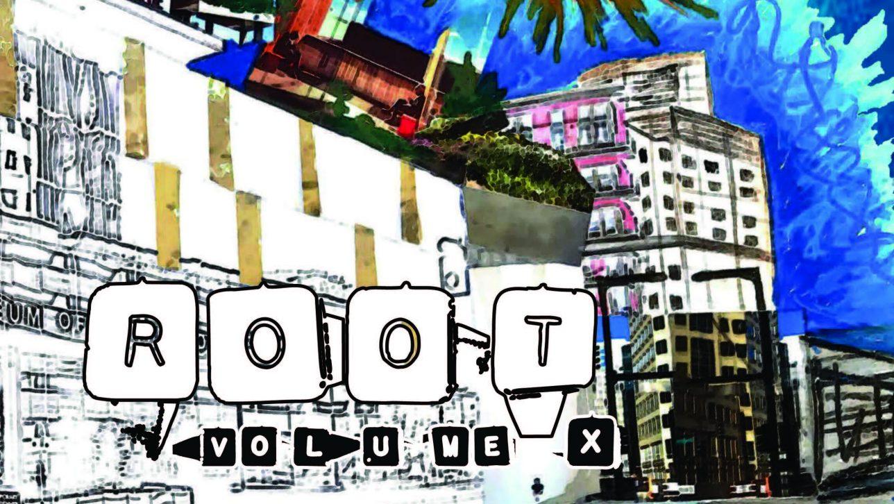 cover of ROOT magazine volume 10