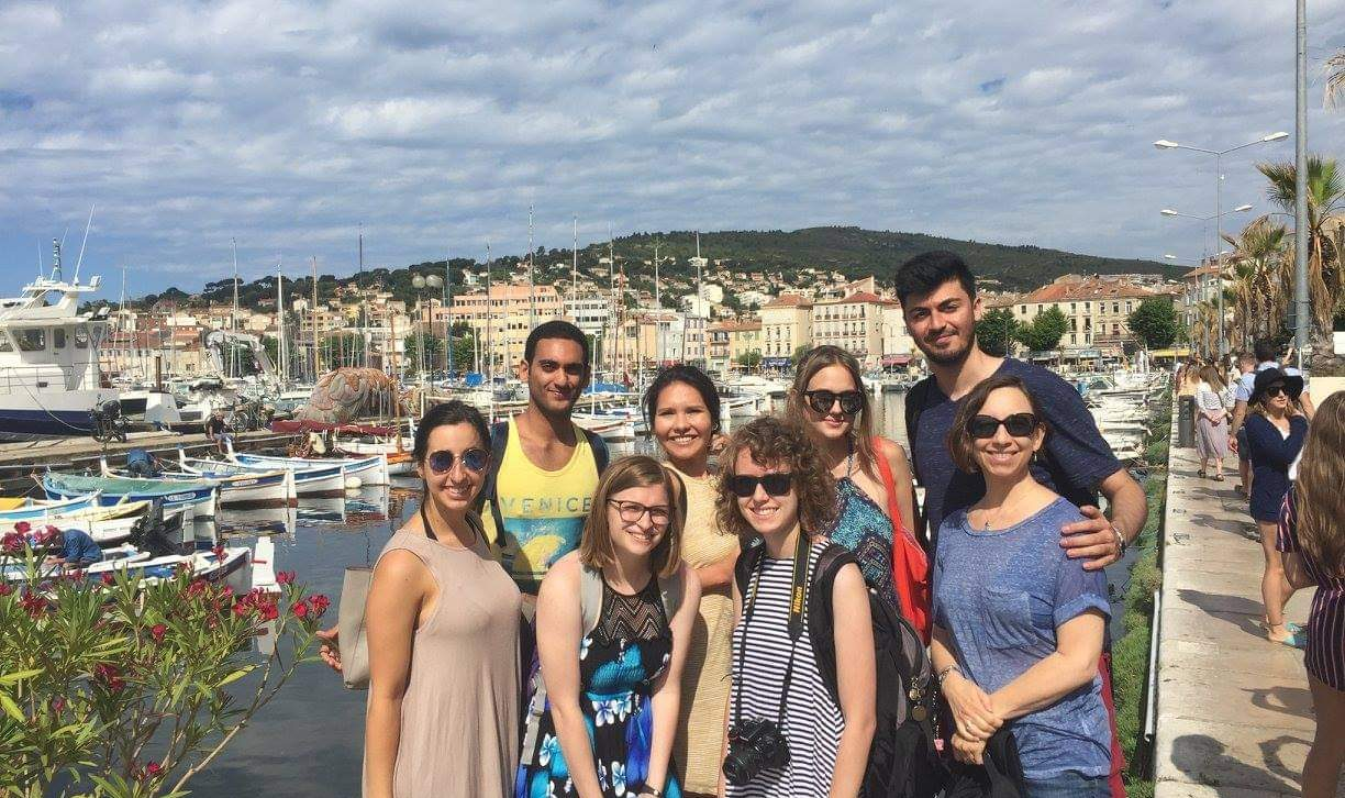 Hardy's first study abroad trip with professor Dr. Willard in Aix-en-Provence, France.