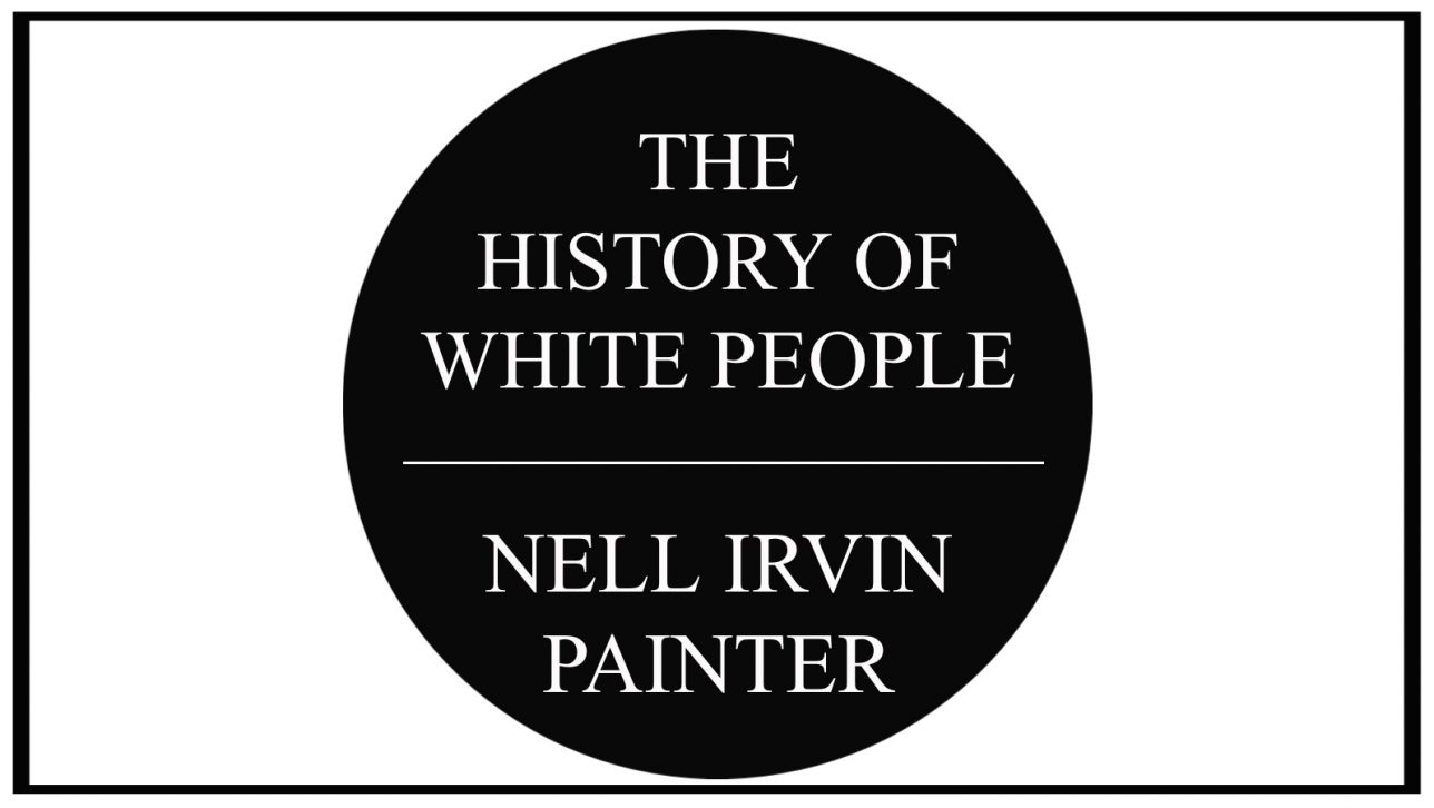 history of white people book cover