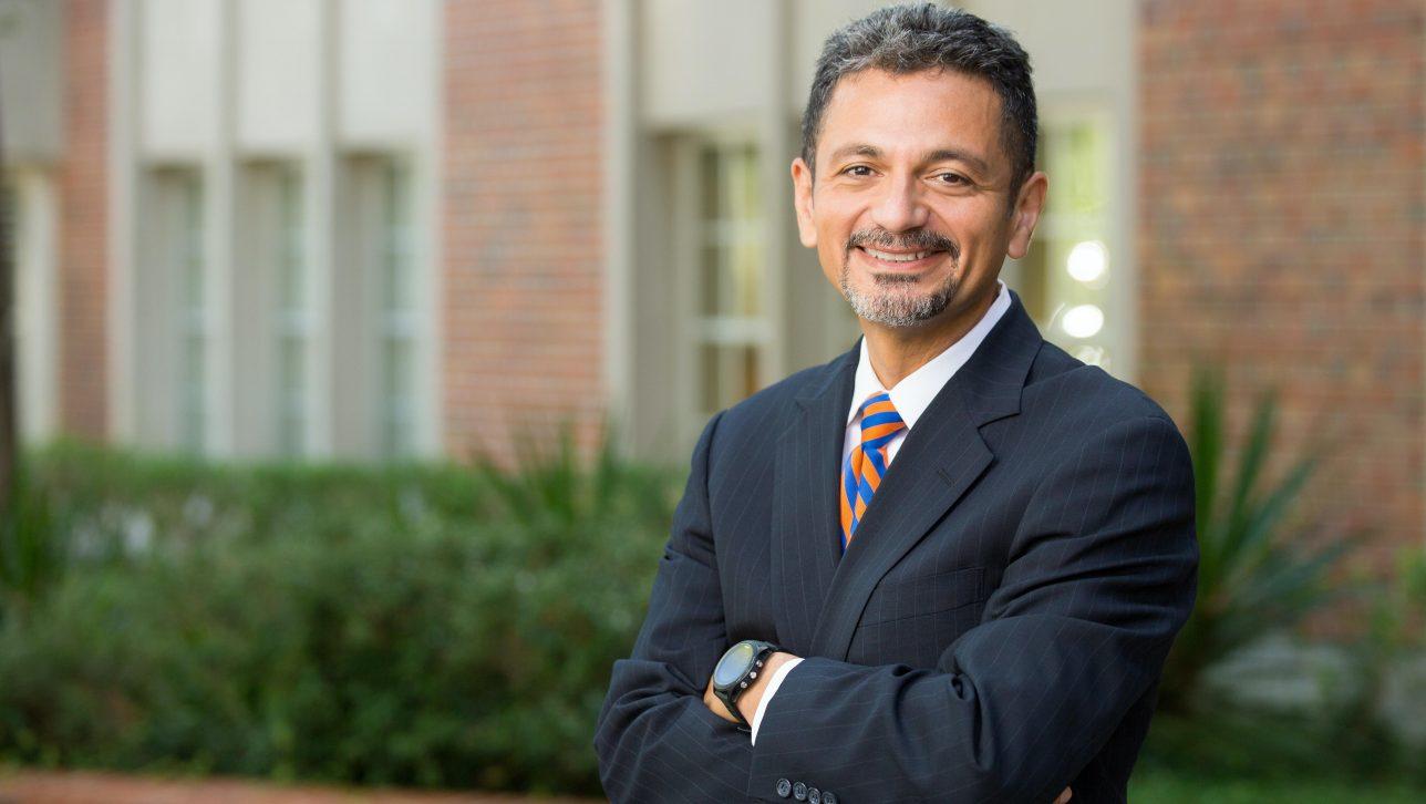 Antonio Farias, CU Denver's new Vice Chancellor for DEI, headshot