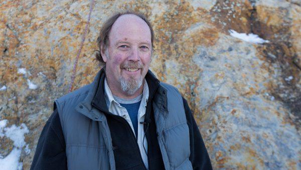 Portrait of Martin Lockley, paleontologist at CU Denver