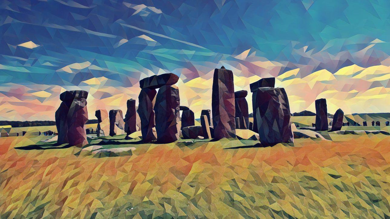 Stone Henge; original photo by kimber nilsson via unsplash