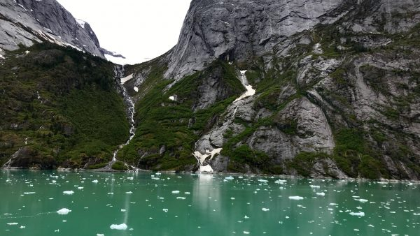 Tracy Arm, a fjord in Alaska near Juneau