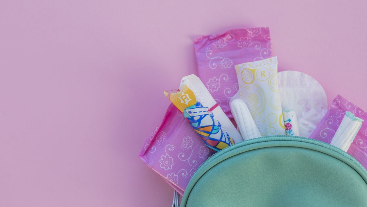 Hygiene products toilet kit