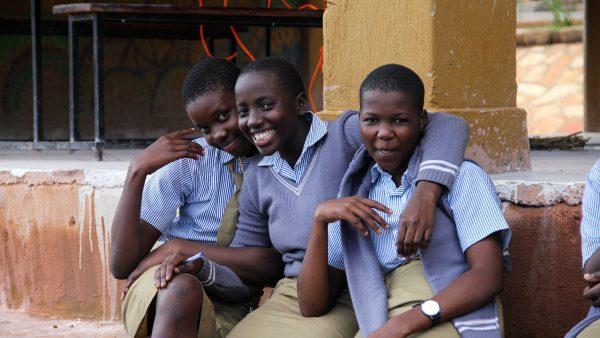 teenage girls in Uganda