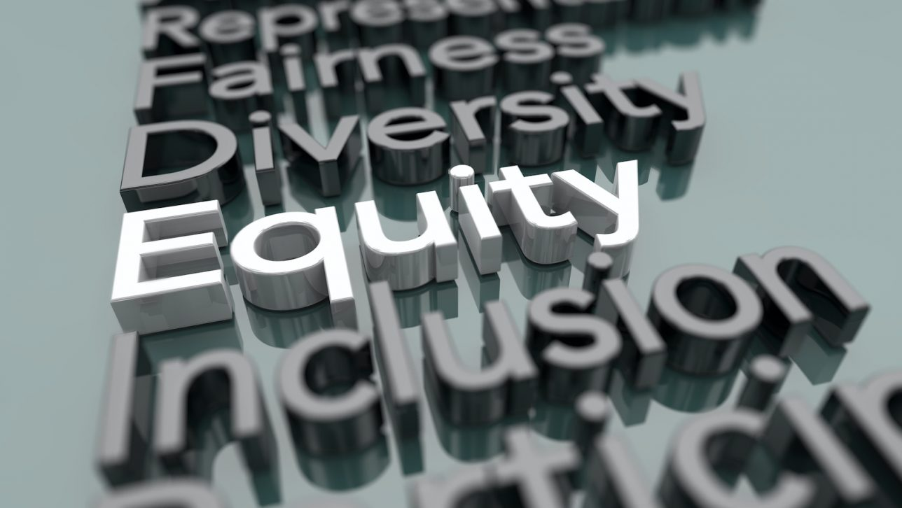 Graphic of the word Equity