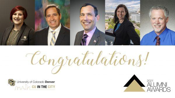 2021 Alumni Awards Recipients