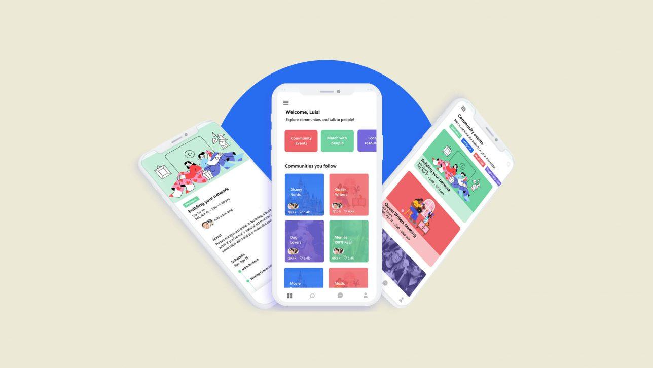 app prototype designed by Luis Hernandez Guerrero