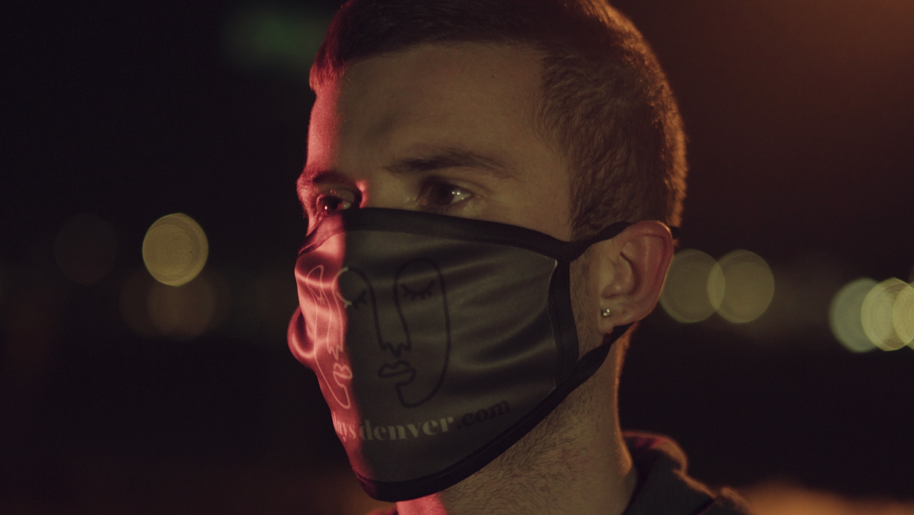 Shane Still with mask