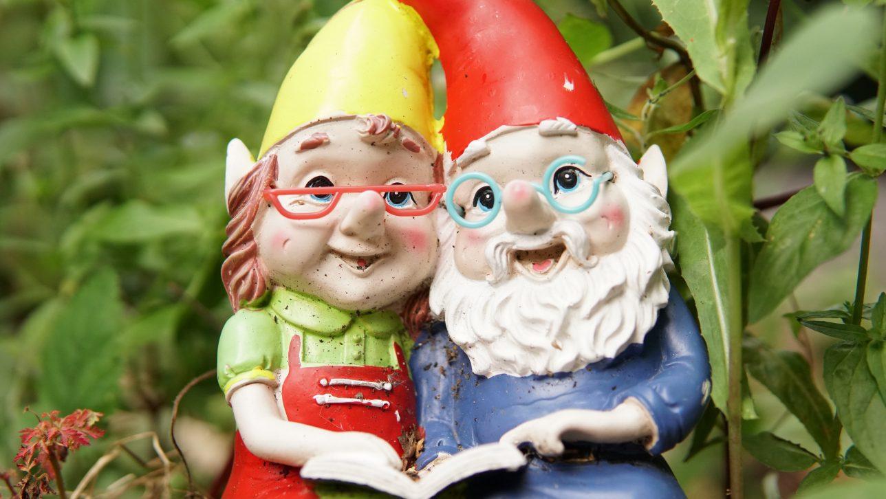 gnomes; photo by colin osborne via unsplash