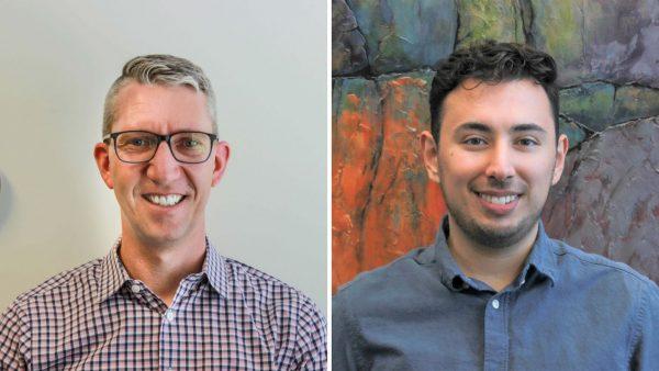 Alex Jewett and Martin Ochoa