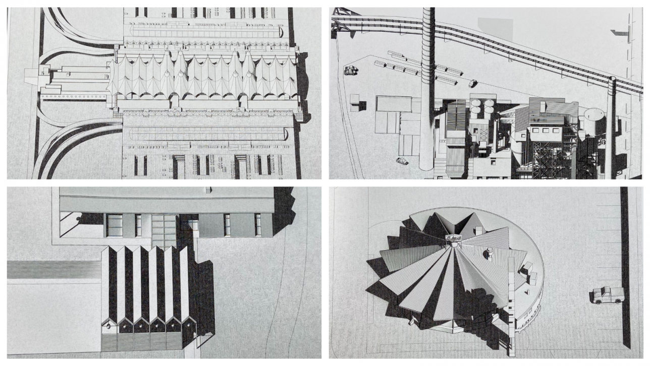 details from architectural drawings