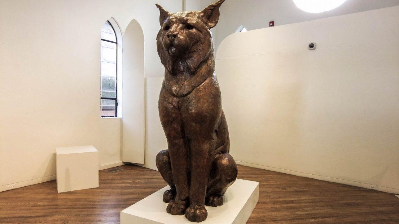 Statue of Milo the Lynx