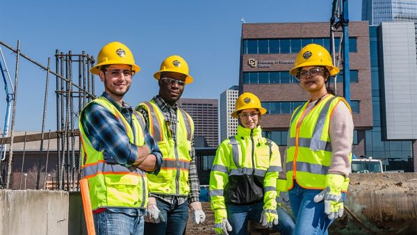 group of people on construction site