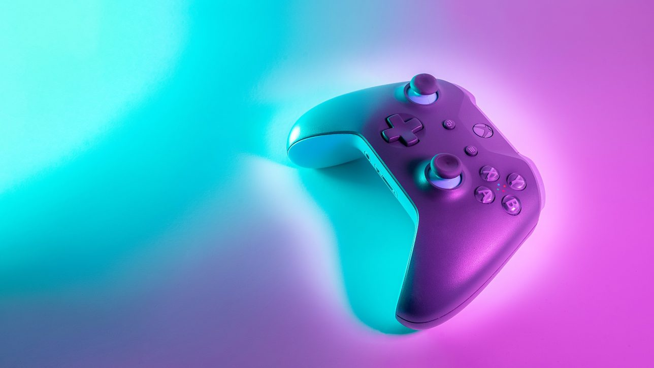 video game controller; photo by javier martinez via unsplash