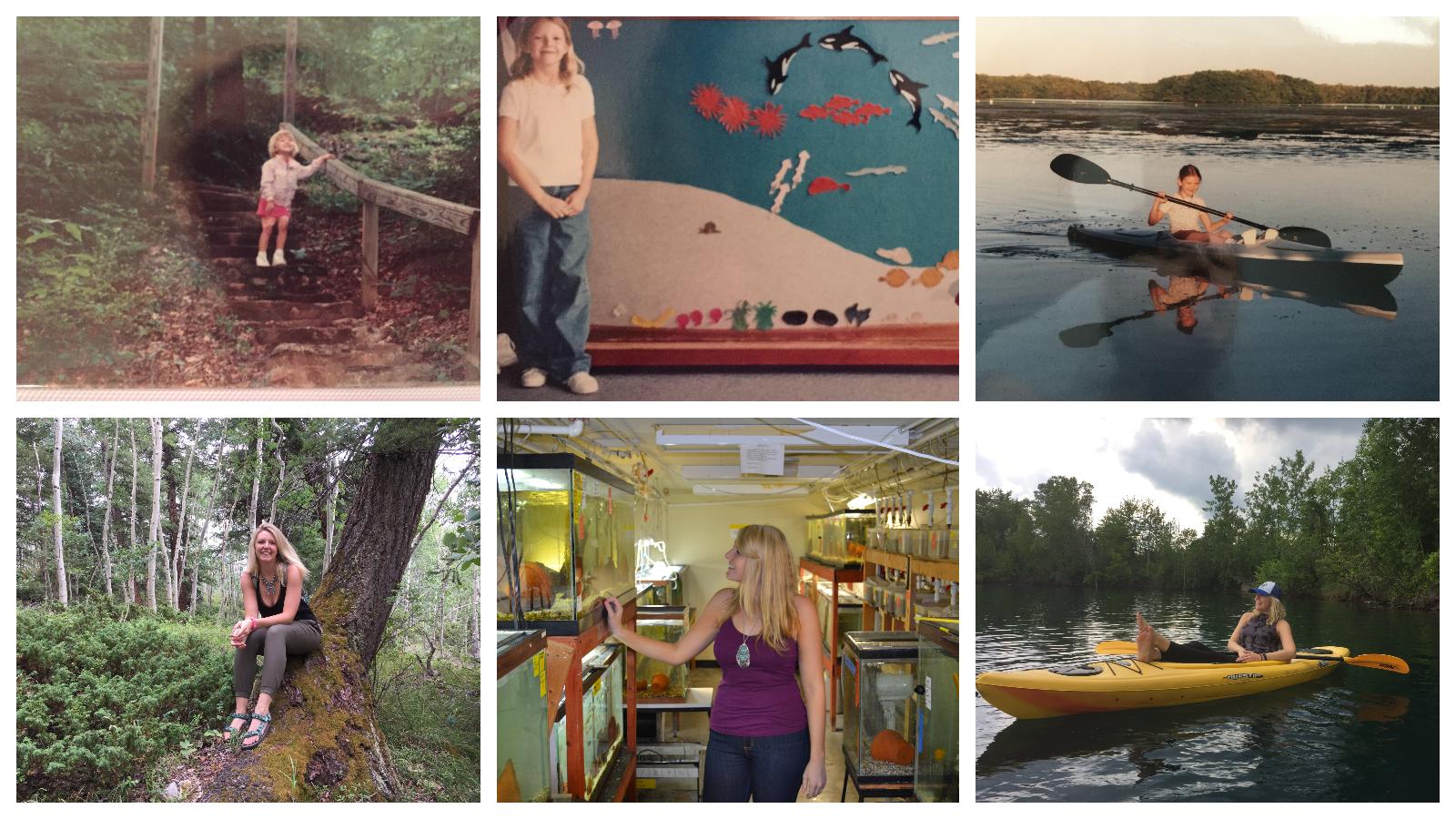 Julie Byle photo collage