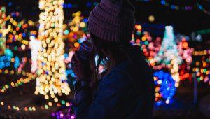 holiday lights; photo by chris ainsworth via unsplash